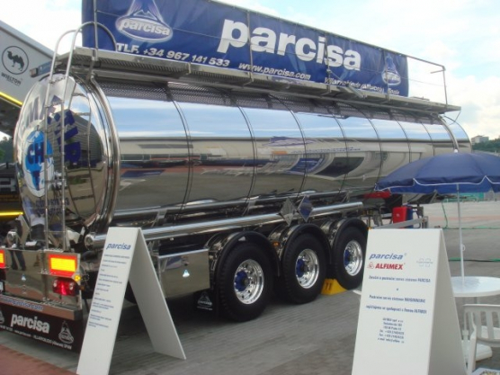 AUTOTEC Brno 2010, warranty and post-warranty service of tank trucks PARCISA
