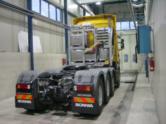 Scania, hanging device Rockinger
